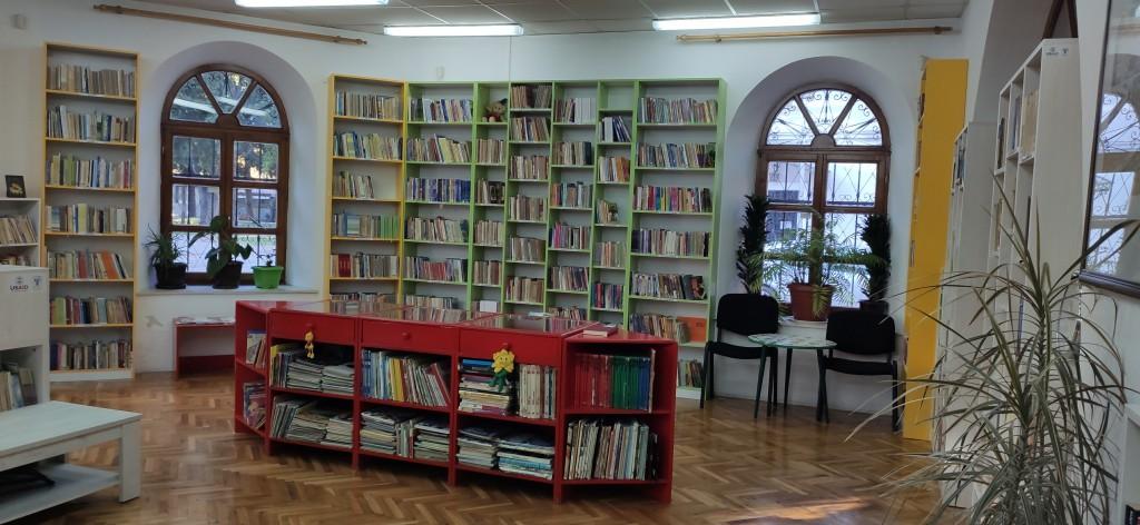 Dječije odjeljenje u Narodnoj biblioteci Trebinje